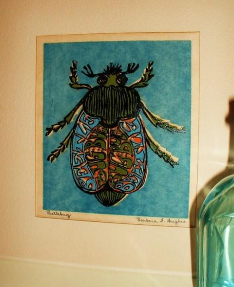 Mostly Madeline's Vintage Beetle Bug Print