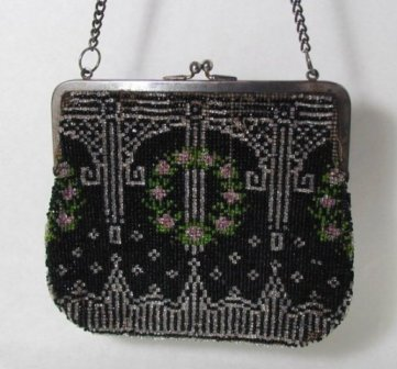 Sell Originals - Art Deco Beaded Purse